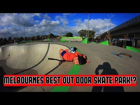 BEST OUTDOOR SKATE PARK IN MELBOURNE!?!
