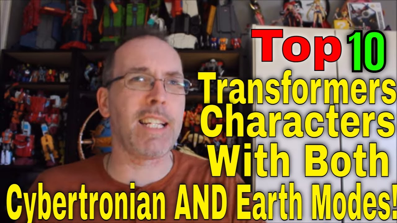 GotBot Counts Down: The Top 10 Transformers Who Have Had Both a Cybertronian AND Earth Mode