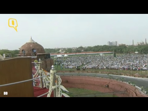 Prime Minister Narendra Modi's Address from Red Fort on India's 71st Independence Day