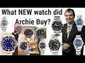 LIVE UNBOXING - Archie buys a new ROLEX WATCH after selling 7 timepieces