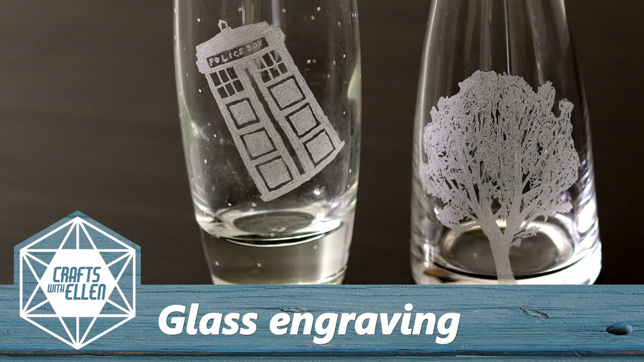 how to engrave glass with a dremel beginners tutorial youtube