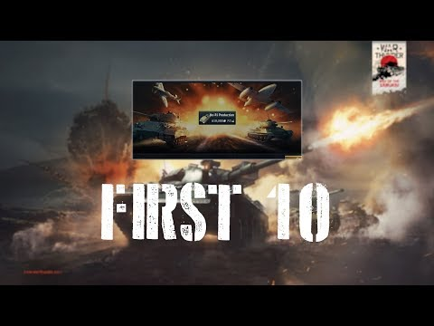 War Thunder First 10 - Ho-Ri Production