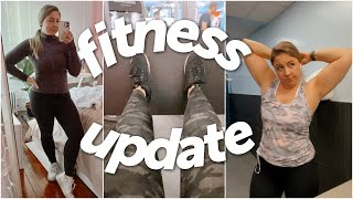 Fitness Update: 9-5 Weight Gain, Goals, & Starting the Whitney Simmons Alive app!