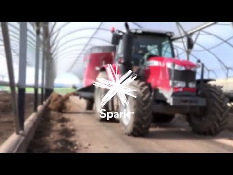 Spark's Connecting Farms Pilot in New Zealand