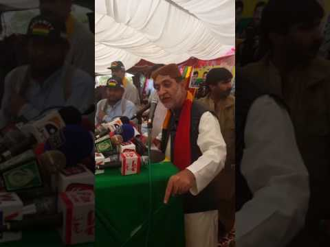 Sardar Akhtar Jan mengal Speac...