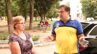 Родители бросившего зеленкой в Саакашвили оказались его пылкими сторонниками