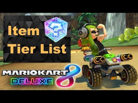 Mario Kart God Ranks All Items Mario Kart 8 Deluxe Tier List