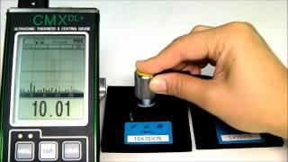 CMX DL PLUS(ゴム).wmv(厚みの異なるゴムを測定 ㈱TMIダコタ http://www.dakotajapan.com., 2010-10-27T02:44:26.000Z)