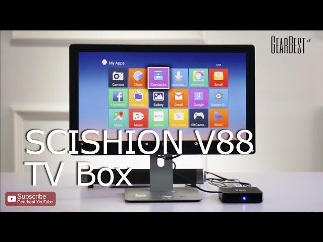 SCISHION V88 TV Box Rockchip 3229 Quad Core