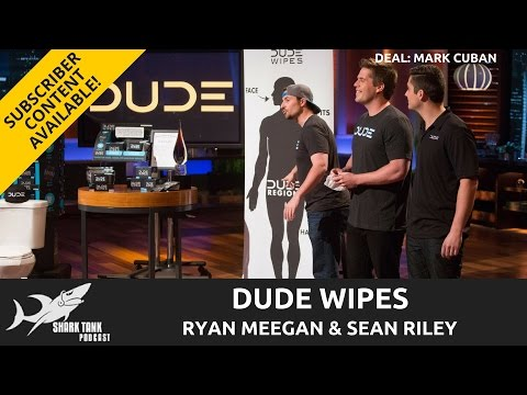 Dude Wipes Update!  One Year After The Shark Tank and Deal with Mark Cuban