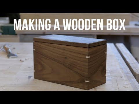 Making a Wooden Box! (For the Giveaway)