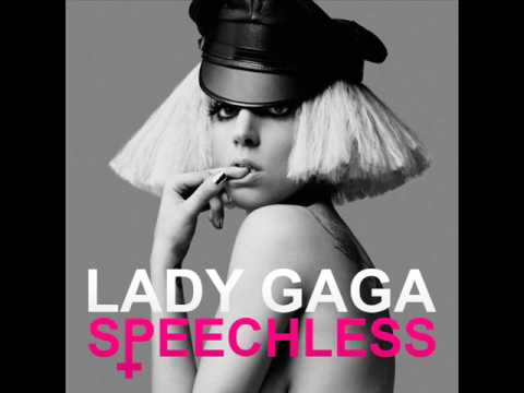 Lady Gaga - Speechless - OFFICIAL The Fame Monster Version + Lyrics [HQ]