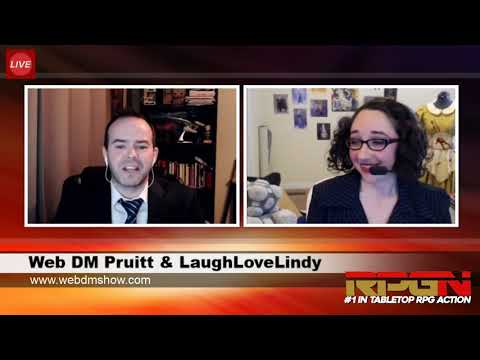RPGN Episode 1: Web DM Tabletop Live Stream Highlight Comedy Show