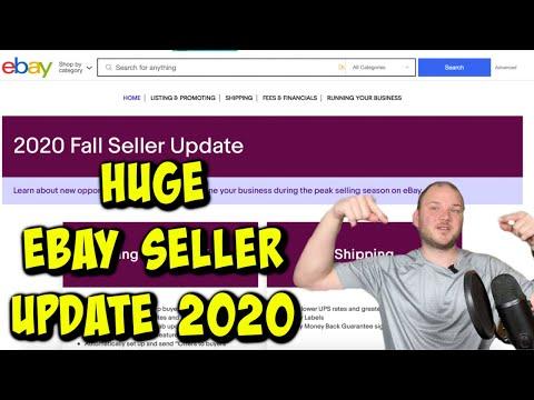 EBAY FINALLY DID IT!!!  2020 Fall Seller Update***