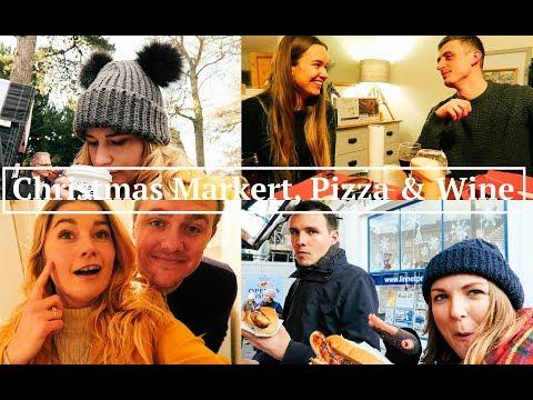 Christmas Markert, Pizza & Mulled Wine | Vlog 14 | Ren Love