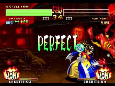 Samurai Shodown IV - Amakusa - Playthrough