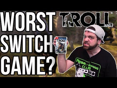 THE WORST NINTENDO SWITCH GAME? Troll and I Review | RGT 85