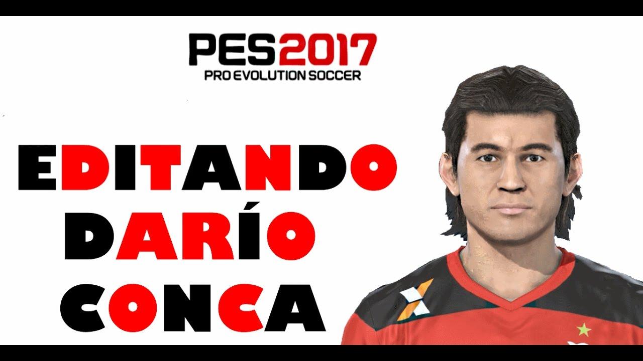 EDITANDO DARO CONCA FLAMENGO PES 2017