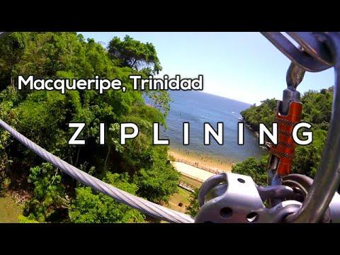 Zip Lining Chaguaramas Macqueripe Trinidad GoPro