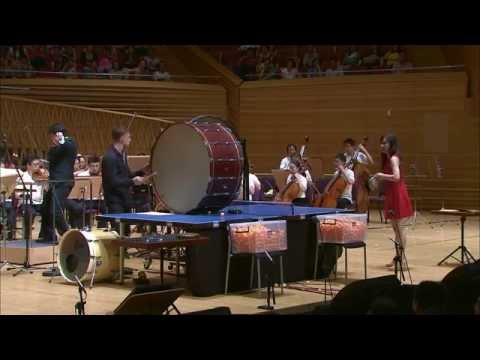"Andy Akiho 023 ""Ricochet"" (Ping Pong Concerto) Hsing, Landers, Zeltser, Cossin"