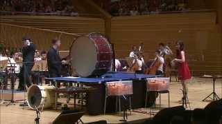 Andy Akiho 023 - Ricochet, Concerto for Ping Pong, Violin, Percussion & Orchestra