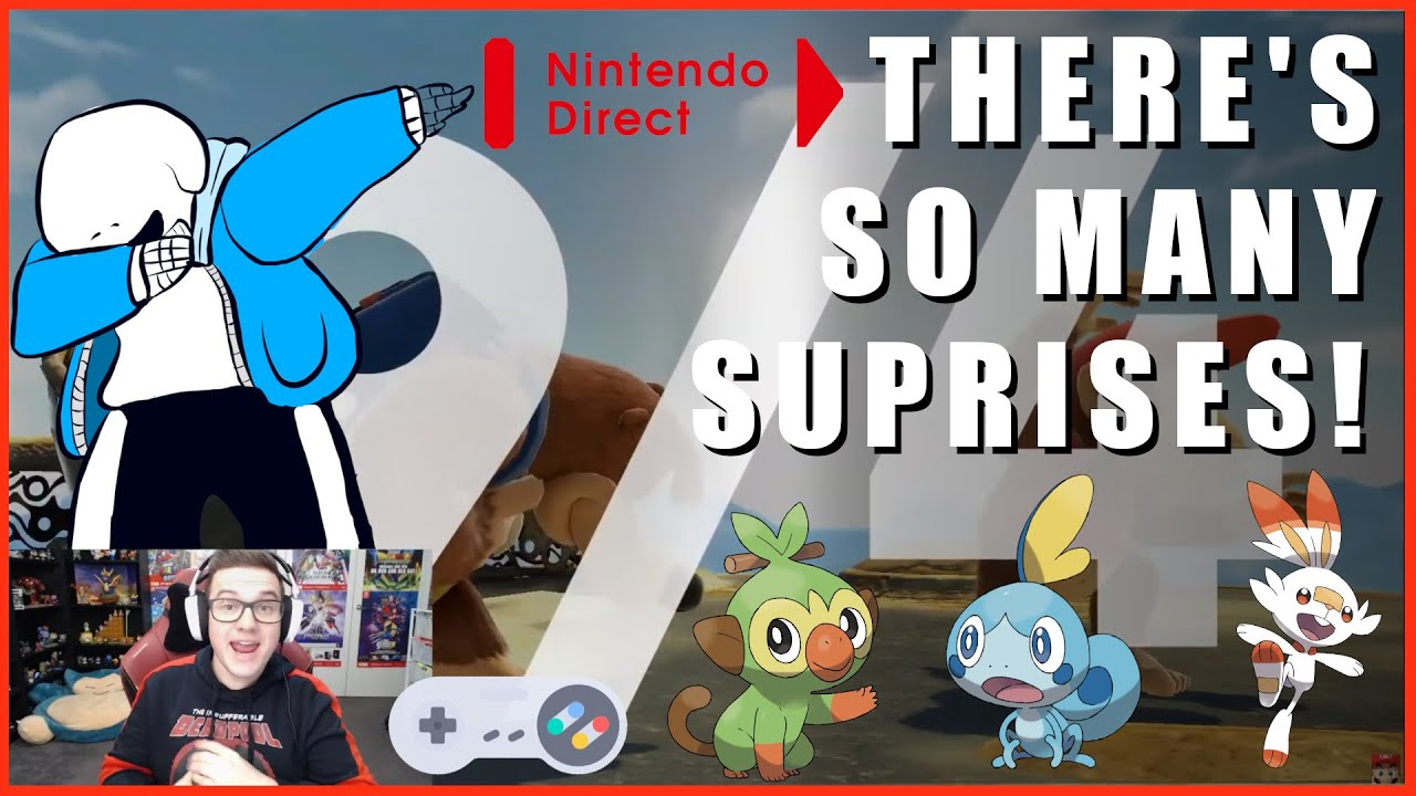 Download A Wild Nintendo Direct Appears! - A Jopa Quest Live Reaction & Banjo Gameplay