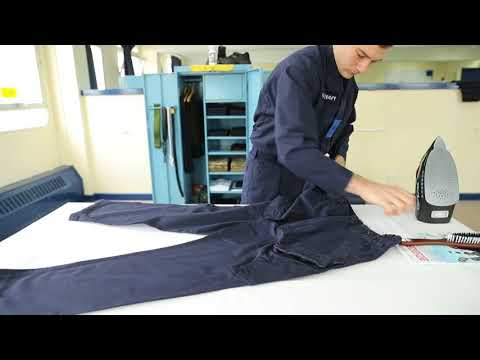 How to fold your PCS trousers