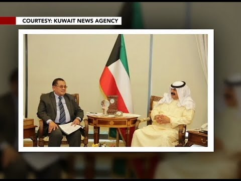 Presidential Adviser on OFWs Concern Abdullah Mama-o appointed as special envoy to Kuwait