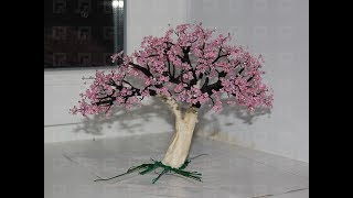 Дерево из бисера Bead tree