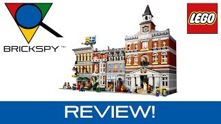 Lego Town Hall 10224 - Review