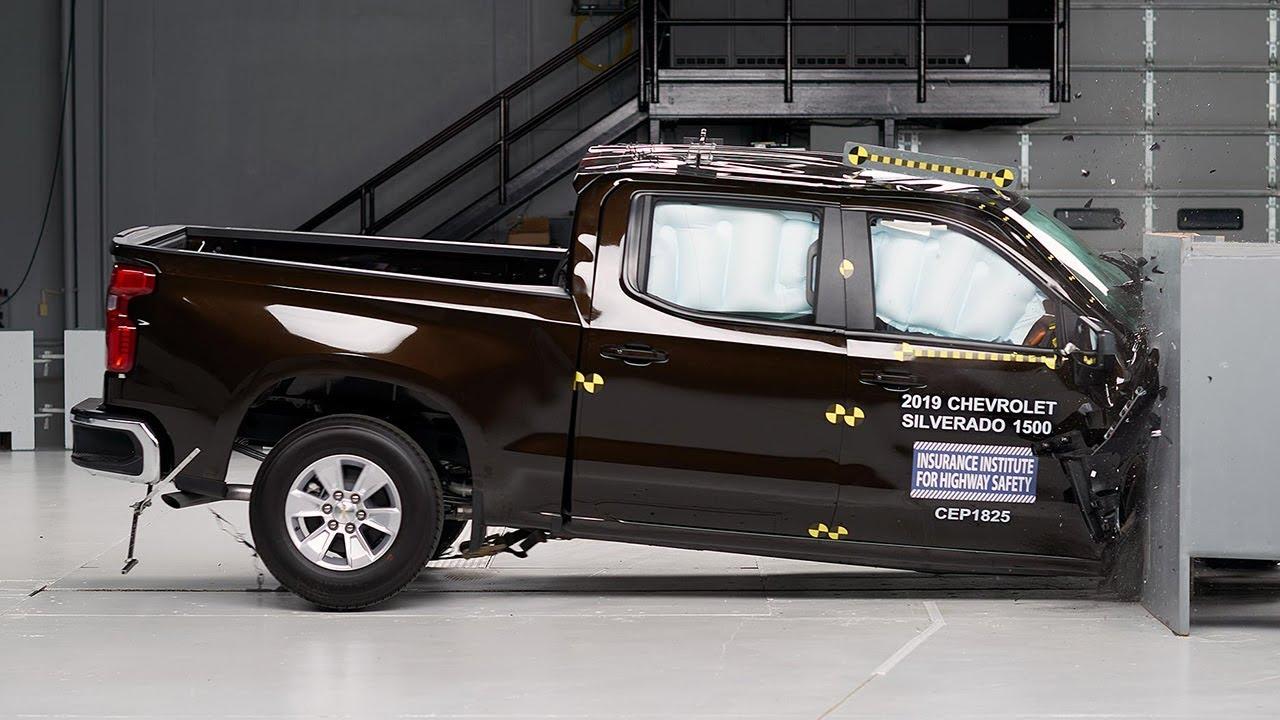 2019 Chevrolet Silverado 1500 Crew Cab Passenger Side Small Overlap Iihs Crash Test