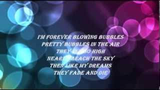 Gambar cover DORIS DAY - I'M FOREVER BLOWING BUBBLES