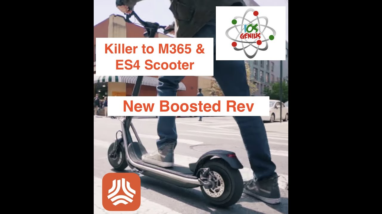 New Boosted Rev - Way Better than M365 and ES4 - iOSGenius