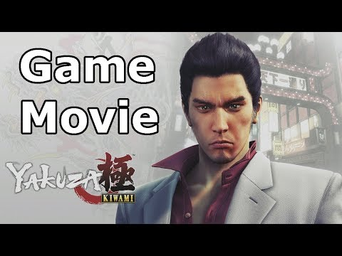 Yakuza Kiwami - All Cutscenes (Game Movie)