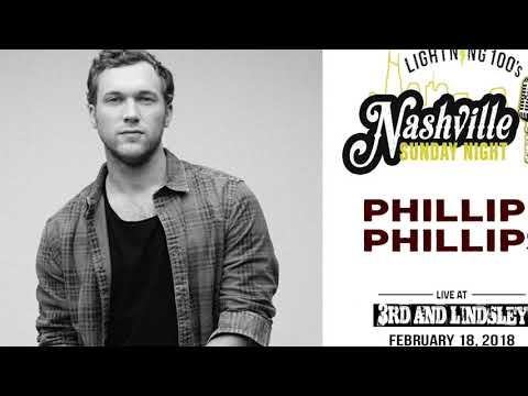 Phillip Phillips full concert at Nashville Sunday Night on 2-25-18