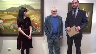 Смотреть видео Галерея 14/45 | Выставка Юрия Рысухина онлайн