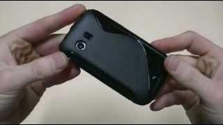 case TPU Wave custodia per Samsung Omnia W Wonder GT-i8350