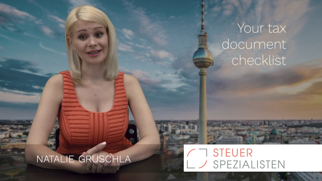 Steuerspezialisten - Your Tax Document Checklist