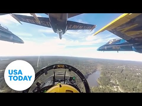 Thumbnail: Experience the Blue Angels in 360-degree video