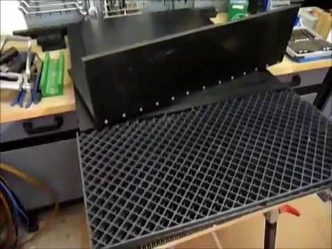 endlosbandfilter selber bauen teil 1 youtube. Black Bedroom Furniture Sets. Home Design Ideas