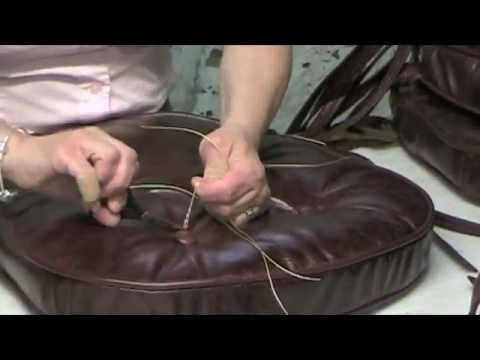 leather chair cushions amazon high upholstery how to make m4v youtube