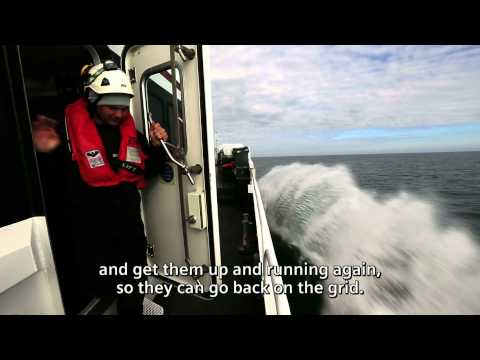 Siemens offshore assembly - a look behind the scenes