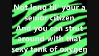 dinosaur by ke$ha (Kesha) [lyrics on screen] from Animal!