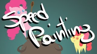 Pinkie's Brew Speed Painting