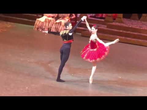 Анна Никулина и Давид Мотта Соарес в балете Дон Кихот