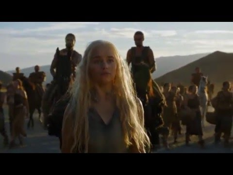 Game of Thrones Official Season 6 Daenerys Dothraki Clip Episode 3