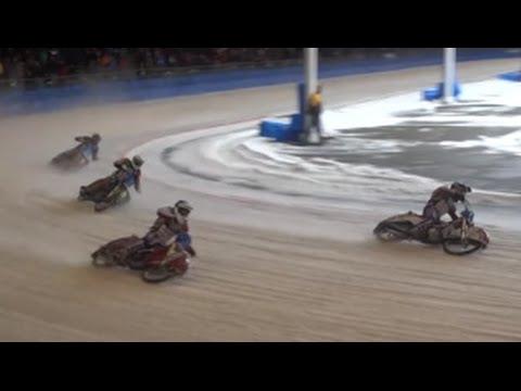 Ijsspeedway Assen  Semifinale 1    10-03-2013