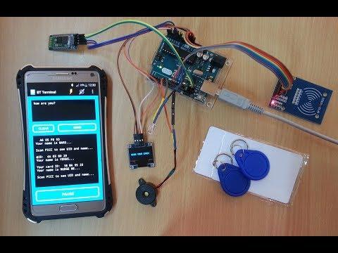 Arduino RFID Card Reader With OLED Display