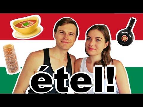 SPEAKING HUNGARIAN PART 12 🇭🇺 étel! | Gulyás, Rétes, Túró Rudi