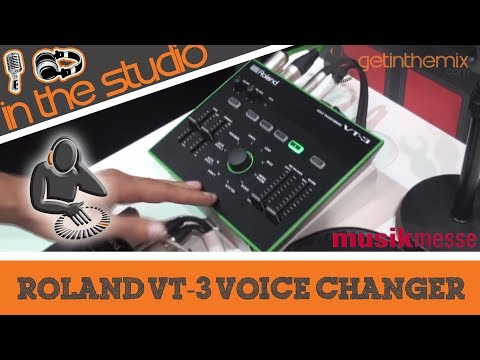 Roland AIRA VT-3 Voice Changer and Vocal Effects at MusikMesse 2014
